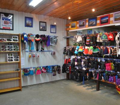 boutique d'équipement de ski